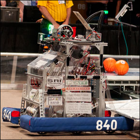 ART team goes to FIRST robotics championships
