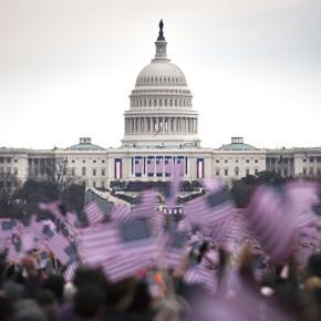Inauguration focuses on hope and faith in future