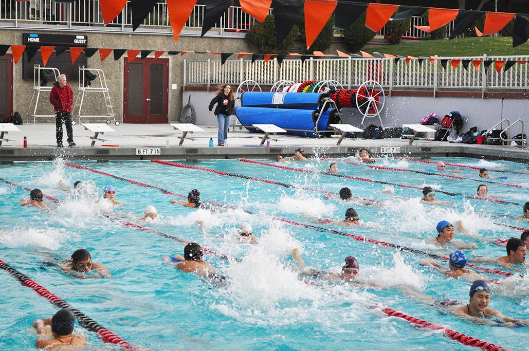 Aragon High School swimming team
