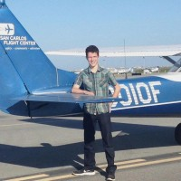 Stephen Schick receives aviation scholarship
