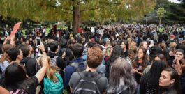 1,000 SMUHSD students walk out to protest in Central Park