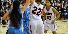 Girls basketball team falls to Hillsdale 40-24 in frustrating game