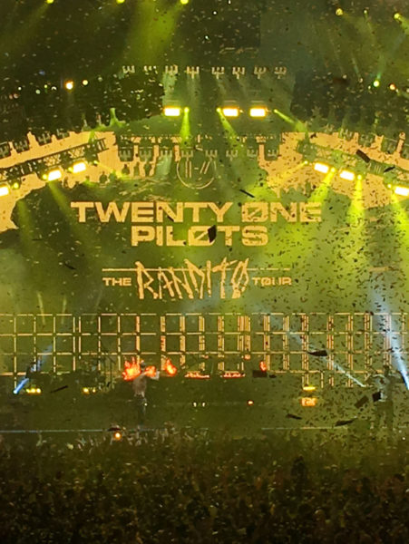 Twenty One Pilots Stops At The Oracle Arena On Their