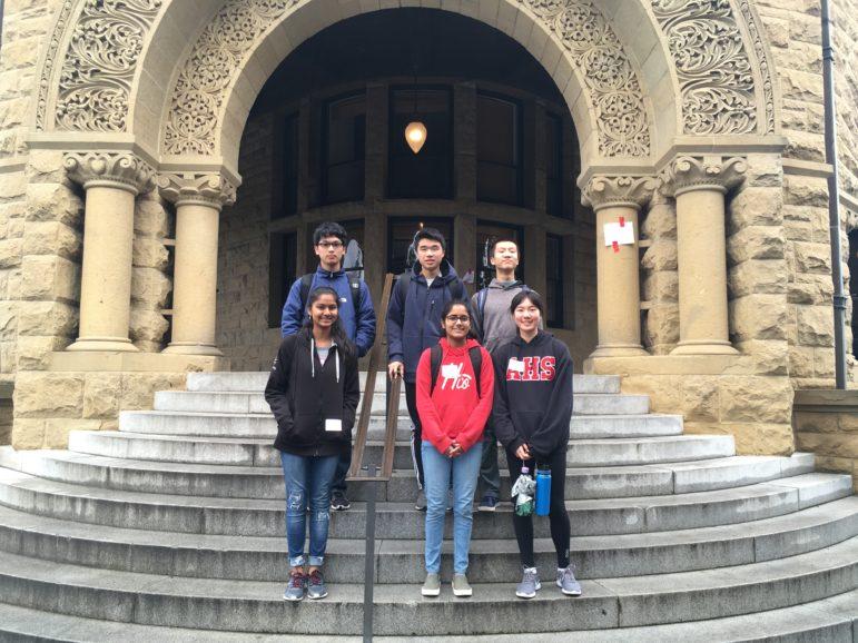 Aragon Math Club competes in Stanford Math Tournament | The